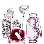 Durevole-Insieme-di-Combinazione-di-Golf-di-Sport-allaperto-di-Palo-delle-Signore-del-Golf-Club-delle-Signore-di-Golf-Rosa-Robusto-e-Durevole-di-Sport-allaperto-Conveniente