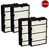 ANBOO for Holmes HEPA Air Filter Replace Air Purifier Filter for Holmes HAPF600 HAPF600D HAPF600D-U2 for Bionaire Part HRC1 Air Filter 4 Pack