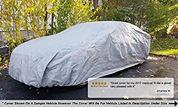 5L Outdoor /& Indoor Hail Sun /& More Bag /& Wind Straps UV Rays Includes Anti-Theft Cable Lock Snow Weatherproof Car Cover Compatible with BMW i8 2014-2019 Protect from Rain Fleece Lining