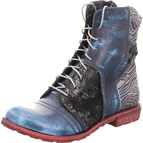Pour 9767 Bleu Blau Simen Femme Bottes q1wtFqx6