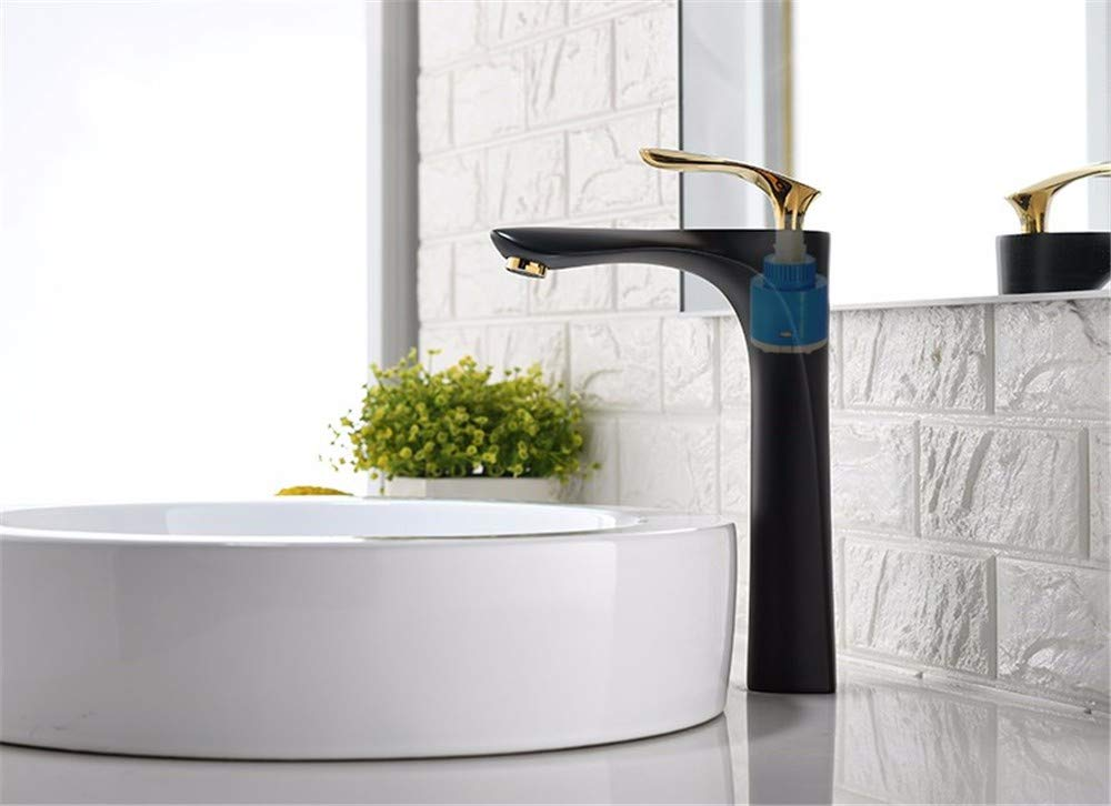 Faucet Basin Copper Kitchen Bathroom Ceramic Spool