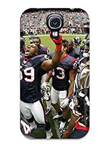 Hot FifFjSp1635gZduz Houston Texans Tpu Case Cover Compatible With Galaxy S4