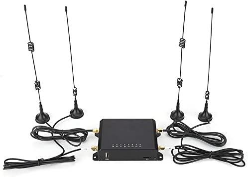 ASHATA WiFi 4G Router, 150Mbps Router 4G Version Industrial ...