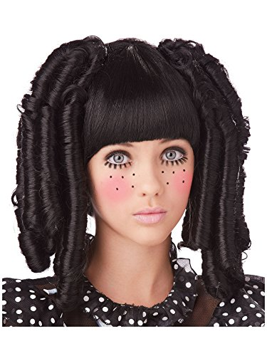 California Costumes Baby Doll Curls with Bangs Adult Wig One-Size]()