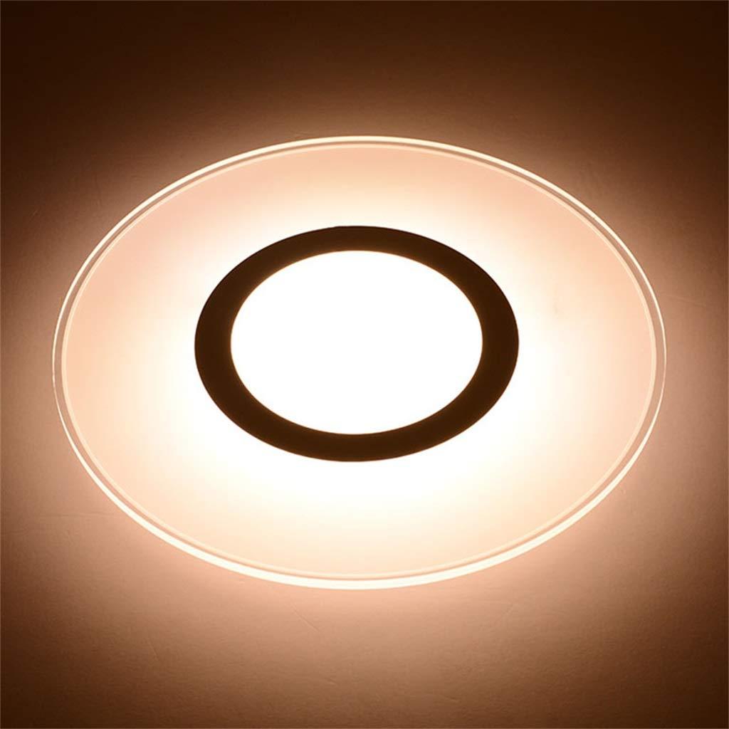 Ultradünne Led Wandleuchte Deckenleuchte Weiß 12 Watt Schlafzimmer Gang Wandleuchte Acryl Blaume 85 V-265 V Dekoratives Licht
