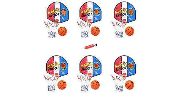 Liberty Imports Magic Shot Mini Juego de aro de Baloncesto con ...