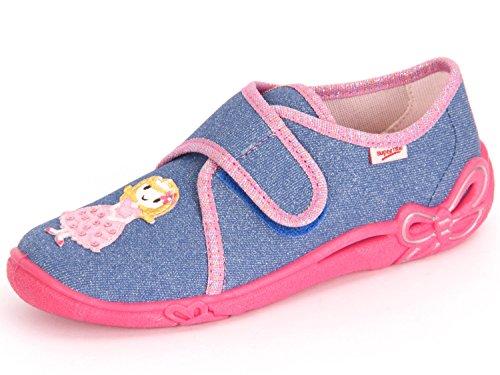 Superfit Belinda 0-00259-87 Kinder Hausschuh Mädchen Blau