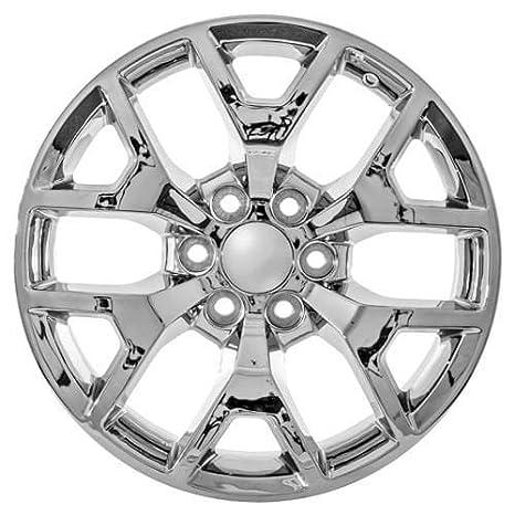 amazon 22 inch gmc ck156 snowflake style truck yukon denali Ford Yukon 2018 amazon 22 inch gmc ck156 snowflake style truck yukon denali sierra chrome wheels automotive