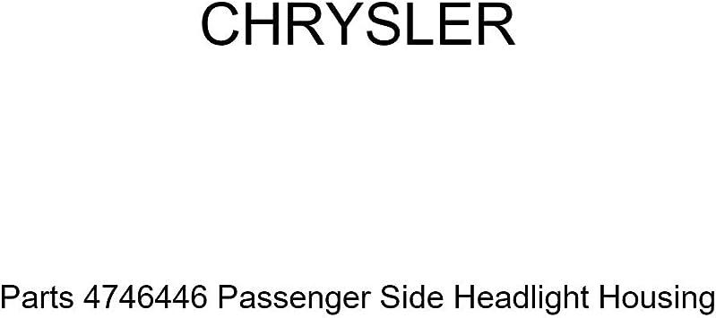 Genuine Chrysler Parts 4746446 Passenger Side Headlight Housing