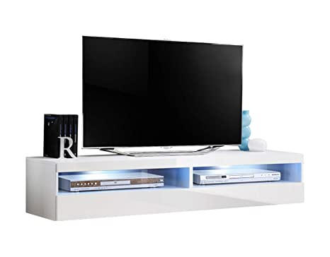Amazon.com: Soporte de TV modular de pared flotante de 24.8 ...
