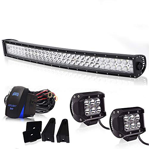 Spead-Vmall Led Light Bar Curved 32