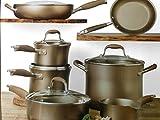 Anolon Advanced Umber Nonstick Hard Anodized 12-piece Cookware Set