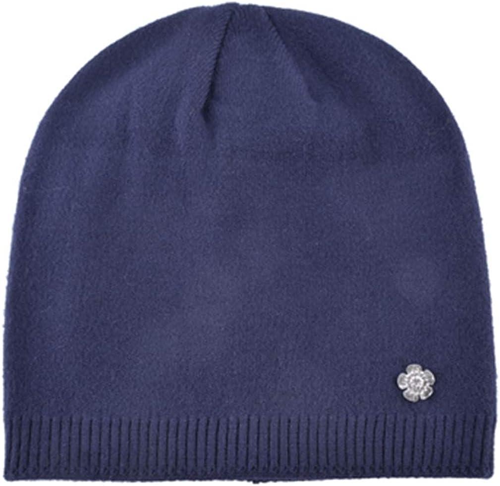 Women Knitted Wool Hats Skullies Beanies Thick Warm Beanie Cap