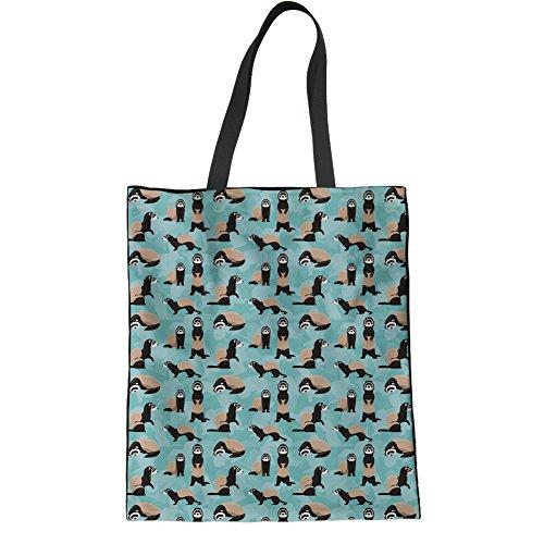 HUGS IDEA Y-H854Z22 - Bolso de tela para mujer, Dental2 (Verde) - Y-H8542Z22 Butterfly4