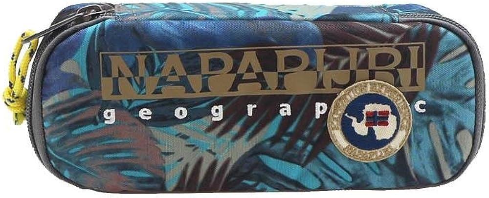 Estuche ovalado North Cape Blue Napapijri: Amazon.es: Ropa y accesorios