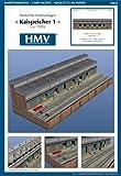 HMV 3464 Papermodel Port Facility - Quayside Warehouse