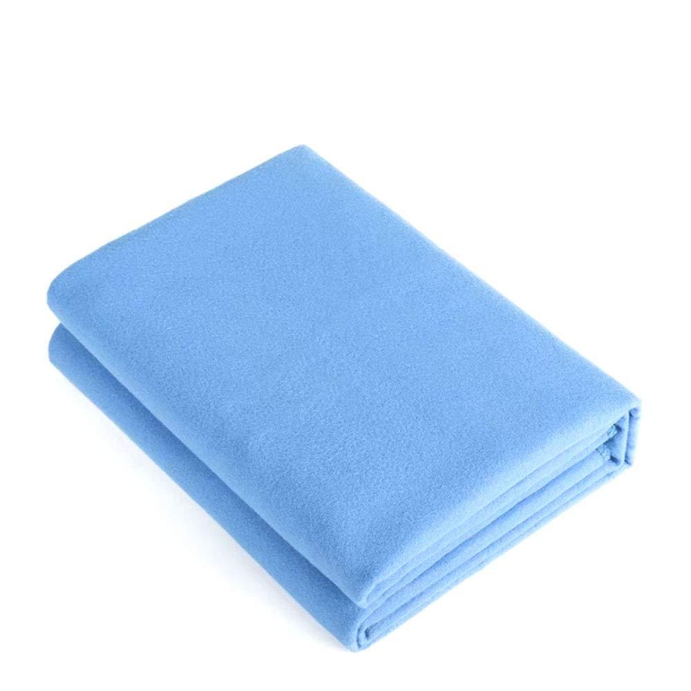 Rutschfestes Yoga-Handtuch (200cmx150cm) Doppelseitige Woll-Falttragetasche Weiches Und Bequemes Einfarbiges Pilates Schweißabsorbierendes Handtuch