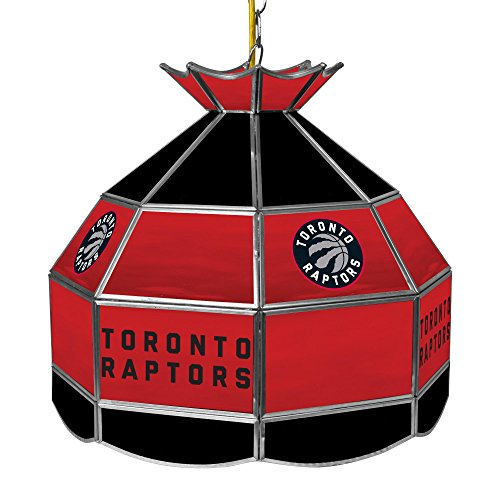 NBA Toronto Raptors Tiffany Gameroom Lamp, 16'' by Trademark Gameroom