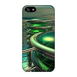 Hot Tpye 3d Dream City Cases Covers For Iphone 5/5s by icecream design