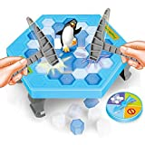 CHUQ Puzzle table games Crashed ice game pounding penguin ice cubes save penguin knock ice block wall toys desktop paternity interactive game for Teens and Family