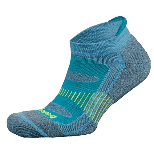 Balega Blister Resist No Show Calcetines de Running Athletic para Hombres y Mujeres, Dynamic Blue, Mediano