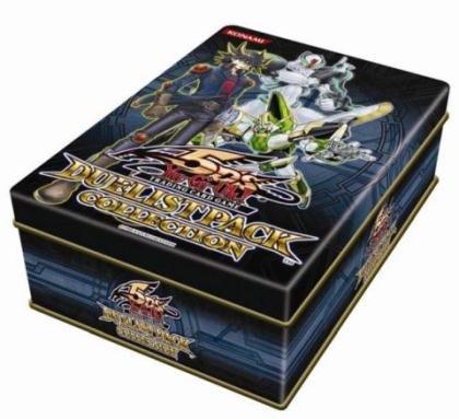 (YuGiOh 5Ds 2011 Duelist Pack Collection Tin Frozen Fitzgerald, Underground Arachnid, Zeman the Ape King Hundred Eyes Dragon)