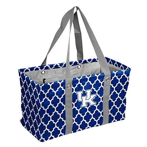 Kentucky Wildcats Tote Bag - Logo Brands Collegiate Large Collapsible Picnic Tote Kentucky Wildcats, Royal, One Size