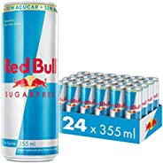 Energético sem Açúcar Red Bull Energy Drink Pack com 24 Latas de 355ml