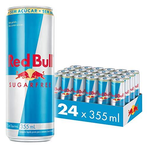 Energético sem Açúcar Red Bull Energy Drink Pack com 24 Latas de 355ml