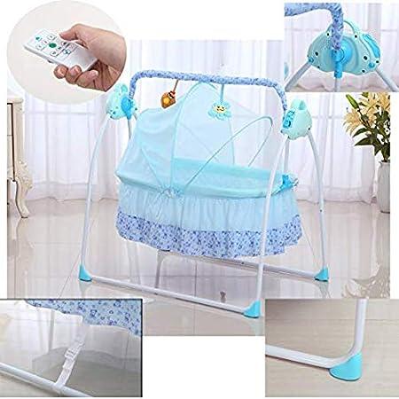 Rocking Music Remoter Control Sleeping Basket Bed Newborns Sway Baby Swing Baby Crib Cradle Auto Rocking Chair Newborns Bassinets Sleep Bed Baby Cradle Swing Electric Stand Khaki