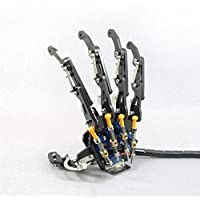 New DIY 5DOF Robot Five Fingers Metal Mechanical Paw Left and Right Hand By KTOY