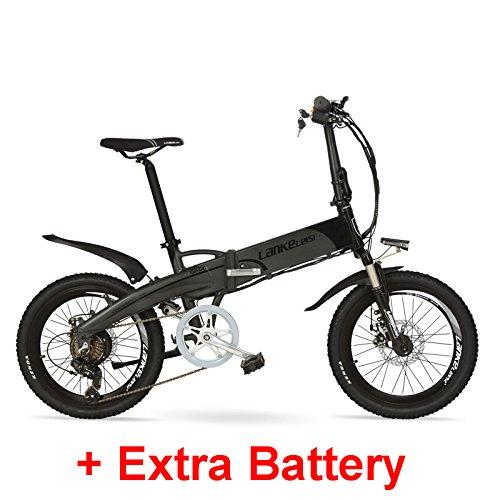 Bicicleta eléctrica LANKELEISI G660 500W Alta potencia