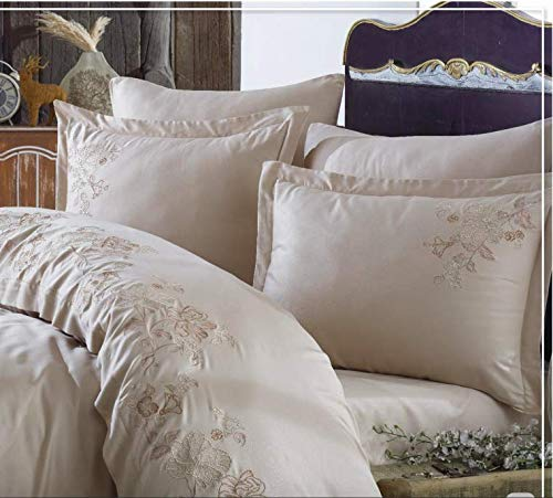 NEVA ALISSE 100% Cotton Satin, Turkish Duvet Cover Set. from NEVA