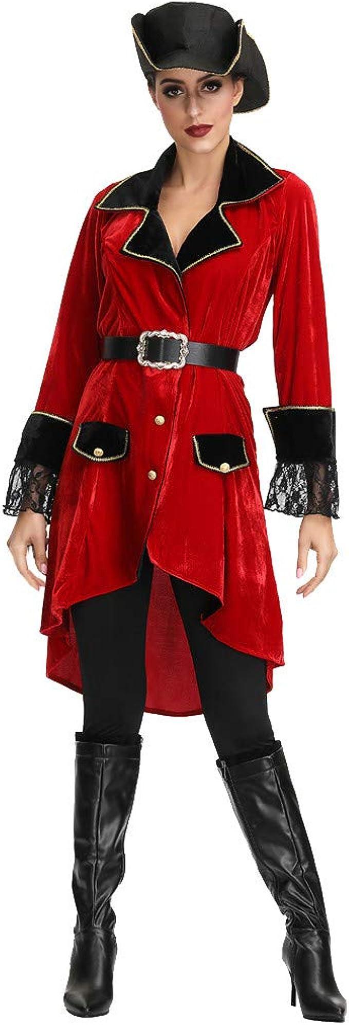 TOFOTL - Disfraz de Pirata para Mujer, para Cosplay, fácil de Usar ...