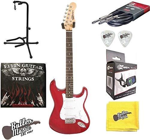 Effin Guitars Effin Start/TR - Guitarra eléctrica (incluye cuerdas ...