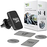 Magnetic Dashboard Cell Phone Holder for Car: Adjustable Universal Air Vent Magnet Dash Car Phone Mount, Works Best with Mobile Phones, 6 Magnet Holds Large Cellphone Plus Case like iPhone 8 7 6 5 4 x