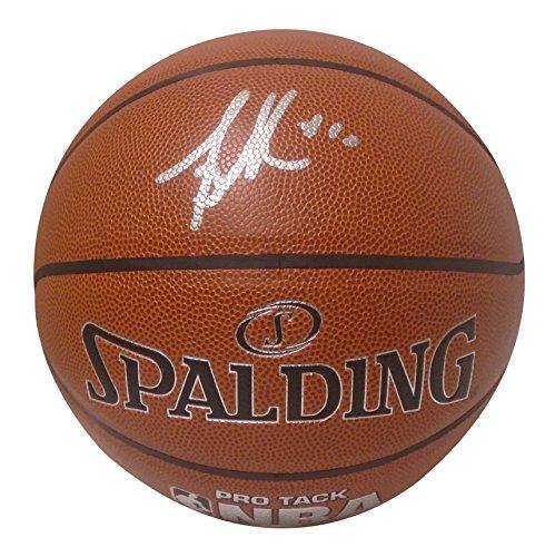 Sacramento Kings Mike Bibby Autographed Hand Signed NBA Spalding Basketball with Exact Proof Photo of Signing, Vancouver Grizzlies, Washington Wizards, Miami Heat, NY Knicks, Arizona Wildcats, - Heat Spalding Miami