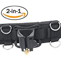 IMZ® DSLR Camera [2in1 Bundle] [Multifunctional Belt + Clip] Waistband Strap Holder Holster for Nikon Canon Sony Pentax Fujifilm Olympus Panasonic DSLR Cameras, Lens Cases, Tripod and Accseeories