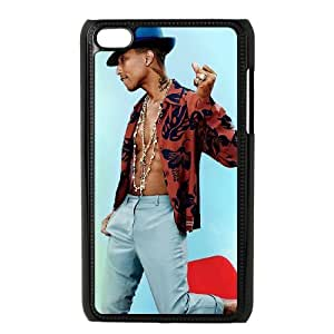 iPod Touch 4 Case Black Pharrell Williams Hard Protective Phone Case Cover XPDSUNTR34254