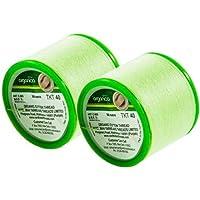 Ceja Threading de hilo de algodón orgánico Bobina