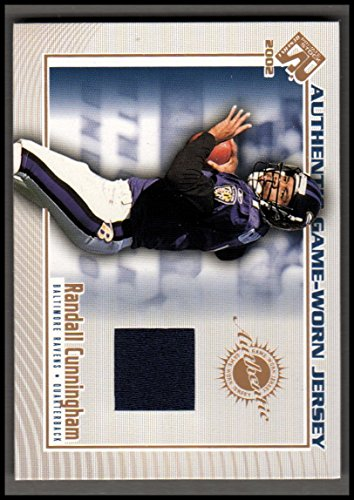 2002 Private Stock Game Worn Jerseys #12 Randall Cunningham SP/250* Jersey NM-MT