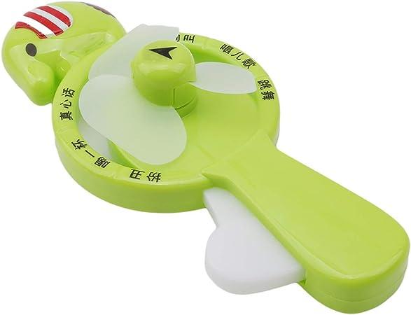 Vektenxi - Mini Ventilador Manual portátil para niños, diseño de ...