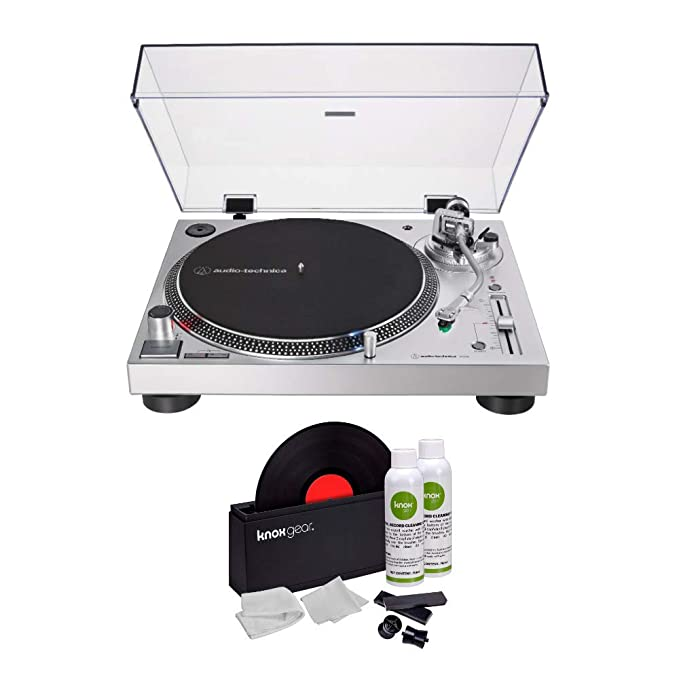 Audio-Technica AT-LP120XUSB - Tocadiscos USB con Sistema Knox Gear ...