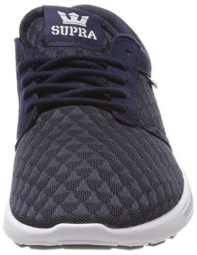 Grey Run white lt Basses navy Bleu Supra Hammer Homme Sneakers g8CxwZv6q