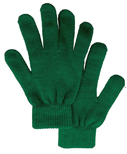 Men / Women's Winter Knit Solid Color Gloves Magic Gloves, -
