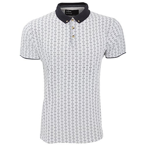 Men's Pattern Short Sleeve Polo Shirt