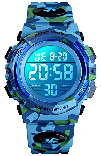 Kid Watch for Boy Girl Child Multi Function Digital LED Sport 50M Waterproof Electronic Analog Quartz Watches Gift