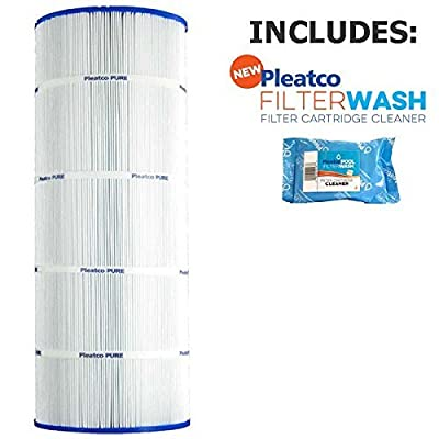 Pleatco Cartridge Filter PA120 120sqft Hayward Star Clear Plus C1200 CX1200RE C-8412 w/ 1x Filter Wash : Garden & Outdoor
