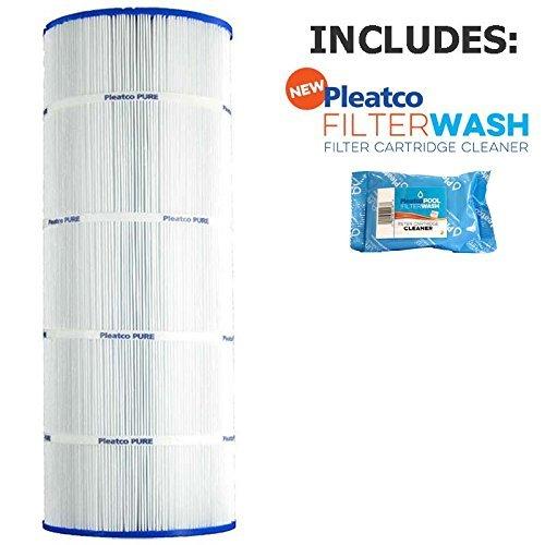 Filter Pool Cartridge (Pleatco Cartridge Filter PA120 120sqft Hayward Star Clear Plus C1200 CX1200RE C-8412 w/ 1x Filter Wash)