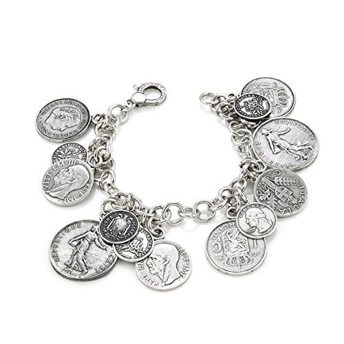 Bracelet pièces cm 21
